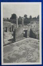 OSTIA ANTICA Terme Mosaico del Nettuno viaggiata  1926  f/p #22098