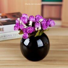 Set of 4 Vases Ceramic Plants Succulent Planter Pots Mini Decorative Bud Vase Ga