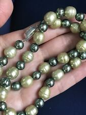"""Honora Sterling Silver Freshwater Cultured Pearl Necklace 18"""""""