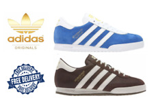 Adidas da Uomo Originali Beckenbauer Classico Sneakers Scarpe Retrò Marrone/Blu