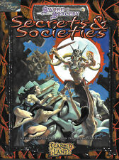 DUNGEONS & DRAGONS D20 SCARRED LANDS - Secrets and Societies *RPG*