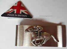 Stainless Steel English Pewter Money Clip Horse Racing UK Brand Quality Product