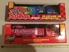 NASCAR Diecast transporter Budweiser Bud Lizard beer adult R Craven Jeff Gordon