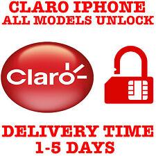CLARO FACTORY UNLOCK SERVICE IPHONE 11 MAX PRO XS MAX XR X 8+ 8 7+ 7 6S+ 6S 6 5S