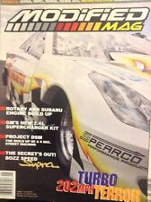 Modified Mag Magazine Rotary And Subaru Engine July/August 2002 020518nonrh