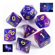 2019 Galaxy Purple & Blue Dice Set