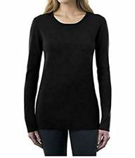 Kirkland Signature Ladies Crewneck Sweater Size Extra Large - Black
