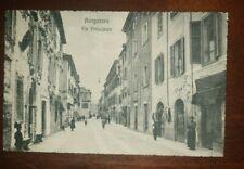 Cartolina d'epoca paesaggistica Emilia  Romagna  Parma  Borgotaro