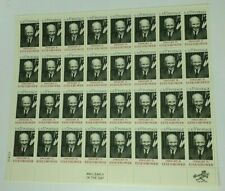 1969 Dwight D. Eisenhower 6 Cent Sheet of 32 Mint