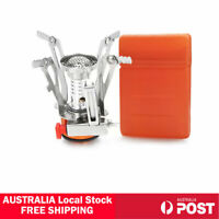 Outdoor Picnic Gas Burner Portable Backpacking Camping Hiking Mini Stove Cooker