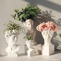 Modern Nordic Style Creative Vase Human Head Decorative Ornaments Home Decor