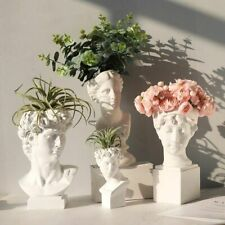 Modern Nordic Style Creative Vase Human Head Decorative Ornaments Home Decor