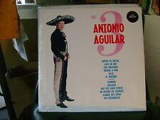SEALED SPANISH MEX LATIN LP~ANTONIO AGUILAR~VOL 3~CON EL MARIACHI MEXICO~HEAR