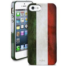 Coque Puro pour iPhone SE et 5s Drapeau Italie
