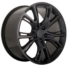 "4-New OE Performance 137MB 20x9 5x127/5x5"" +34mm Matte Black Wheels Rims"