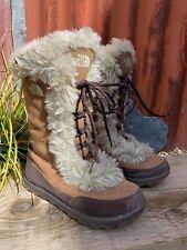Ladies North Face Nuptse Snow Boots - Uk Size 3  (EU 36)