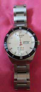 Tissot PRS 516 Silver Face ETA 2836-2 Automatic Swiss Made Watch