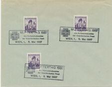 Diverse Philatelie Österreich 1937 Muttertag Mit Sst Briefmarken