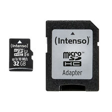 Intenso 32gb Micro SD Class 10 Uhs-1 Professional
