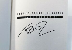 Tricky Hell Is Round The Corner SIGNED book autographed trip hop Massive Attack