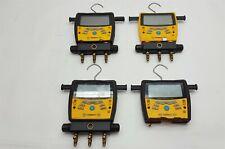 Fieldpiece Sman360 Hvac Hvacr 3 Port Digital Manifold Micron Gauge Parts Lot 4