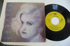 CYNDI LAUPER 45T PROMO MONOFACE SPAIN PRESS. WHO LET IN THE RAIN.