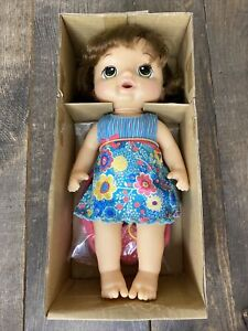 Baby Alive Sweet Tears Black Hair Baby Doll, Drinks and Cries Tears w/Accessorie