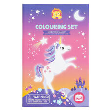 NEW Tiger Tribe Unicorn Magic Colouring Set Childrens Art Craft Activity