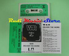MC War deliver the world 1974 Italy UA 30 UAS 29521 no cd lp dvd vhs