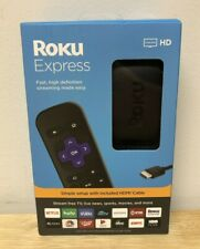 Brand New Roku Express HD Streaming Media Player 3930R Sports Movies TV Live HBO