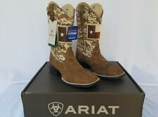 New Men's Ariat Sport Patriot Western Boots Texas Flag