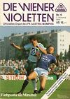 Programm 1985 FK Austria Wien FAK Österreich BFC Dynamo Berlin DDR SK SC Rapid