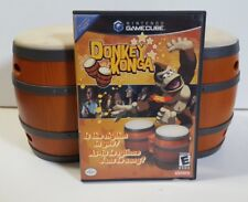 Donkey Konga (with DK Bongos) - Nintendo GameCube Video Game - 2004 Complete