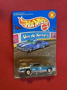 VAN DE KAMPS HOT WHEELS 1967 PONTIAC GTO 389  LIMITED EDITION 1/64 1998