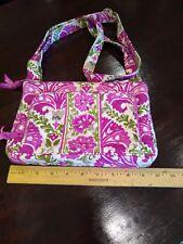 Pink & Green Vera Bradley Cross Body Purse Handbag Unused!