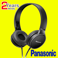 Panasonic RP-HF300 Portable On-Ear Overhead Stereo Headphones + In Line Remote