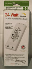 Armacost Lighting 24W 12V DC Dimmable LED Driver Power Supply R840240 BRAND NEW!