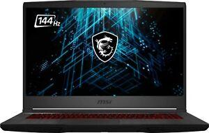 "MSI GF65 Gaming Laptop: 15.6"" 144hz, i5 10500H, 512GB SSD, RTX 3060"
