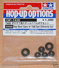 Tamiya 54428 Steel Bevel Gears for TA06 Gear Differential Unit (XV-01/FF03R/M07)