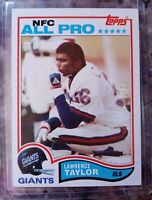 LAWRENCE TAYLOR 1982 TOPPS ROOKIE #434 NEW YORK GIANTS HOF RC