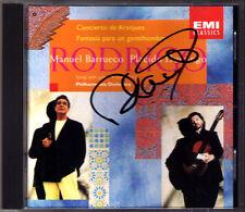 Placido DOMINGO Signed RODRIGO Concierto de Aranjuez Fantasia Manuel BARRUECO CD