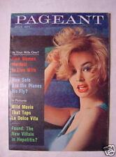 PAGEANT July 1963 Jul 63 8½ 8 1/2 SHARON FARRELL DINA MERRILL +++