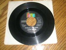 "CANDI STATON / ""STAND BY YOUR MAN"" bw ""HOW CAN I PUT OUT"" ~ 1970 FAME 45 RPM"