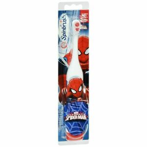Arm & Hammer Kid's Spinbrush Powered Toothbrush Ultimate Spider