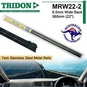 Pair Tridon Metal Rail Wiper Refills for Jaguar 240 340 420 E Type S Type MK