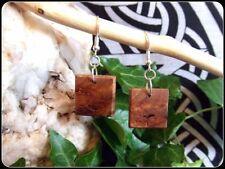 Wood Earrings Jewellery