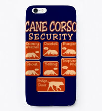 Cane Corso Dog Security Funny Gift Phone Case iPhone