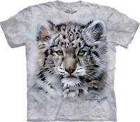 The Mountain Unisex Child Baby Snow Leopard Animal T Shirt