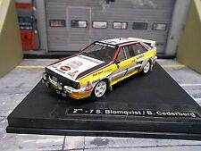 AUDI Quattro Rallye Monte Carlo Gr.B 1984 #7 Blomqvist UMBAU HB Trofeu 1:43