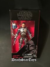 "Star Wars The Black Series 6"" Bounty Hunter Jango Fett Kamino Clone Boba AOTC 15"